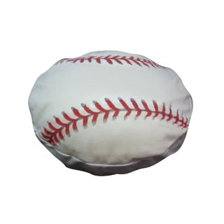 Dogzzzz Small Round Baseball Dog Bed