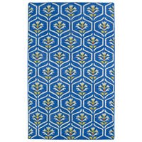 Hollywood Blue Flatweave Rug