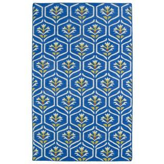 Hollywood Blue Flatweave Rug (9' x 12')