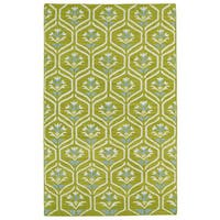 Hollywood Wasabi Flatweave Rug (8' x 10')