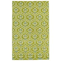 Hollywood Wasabi Flatweave Rug