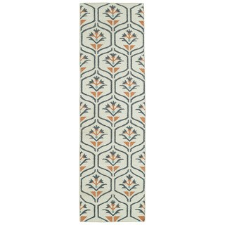 Hollywood Beige Flatweave Rug (2'6 x 8')