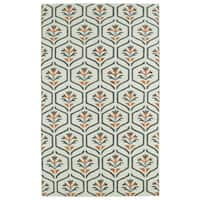 Hollywood Beige Flatweave Rug (5' x 8') - 5' x 8'