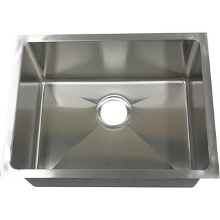 Phoenix PLZ10BG 23-inch 18 Gauge Stainless Steel Undermount Kitchen Sink
