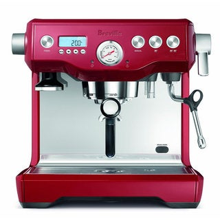 Breville Cranberry Red BES920BSXL Dual Boiler Espresso Machine
