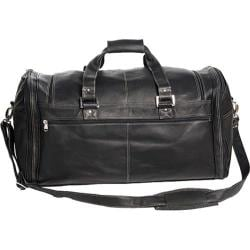 David King Leather 8305 Deluxe Extra Large Multi-Pocket Duffel Black