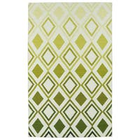 Hollywood Green Ombre Flatweave Rug (9' x 12')