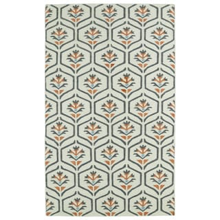 Hollywood Beige Flatweave Rug (8' x 10') - 8' x 10'