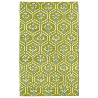 Hollywood Wasabi Flatweave Rug (9' x 12')