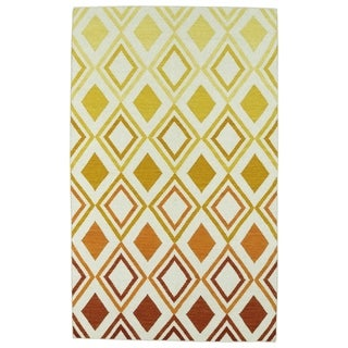 Hollywood Multi Ombre Flatweave Rug (2' x 3')