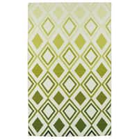 Hollywood Green Ombre Flatweave Rug - 8' x 10'