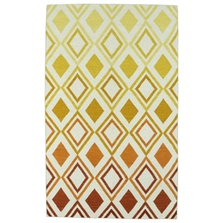 Hollywood Multi Ombre Flatweave Rug (8' x 10')