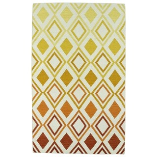 Hollywood Multi Ombre Flatweave Rug (3'6 x 5'6)