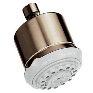 Hansgrohe Clubmaster 28496825 Brushed Nickel Showerhead