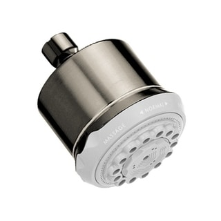 Hansgrohe Clubmaster 28496821 Brushed Nickel Showerhead