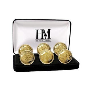 NFL Pittsburgh Steelers 6-time Super Bowl Champions Gold Game Coin Set|https://ak1.ostkcdn.com/images/products/9443424/P16628505.jpg?impolicy=medium