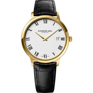 Raymond Weil Men's 5588-PC-00300 Toccata Gold-Tone Watch|https://ak1.ostkcdn.com/images/products/9443606/P16628666.jpg?impolicy=medium