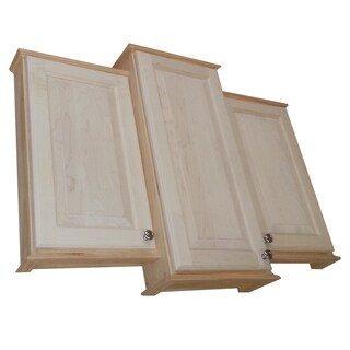 24 x 30 x 24-inch Ashley Triple Series On-the-wall Bath Cabinet and 3.5-inch deep