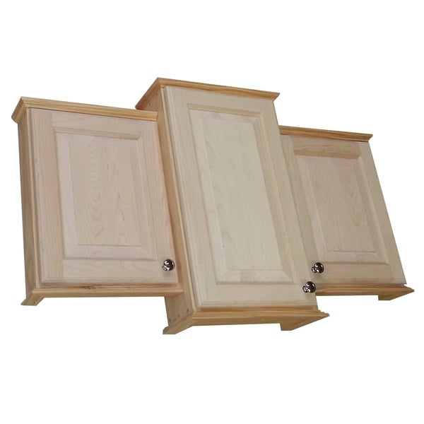 18 X 24 X 18 Inch Ashley Triple Series On The Wall Bath Cabinet And 3 5 Inch Deep Free
