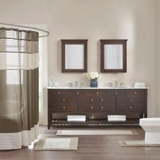 Madison Park Eastridge Taupe Bath Rug