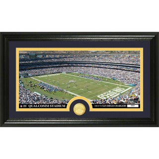 NFL San Diego Chargers 'Stadium' Bronze Coin Panoramic Photo Mint