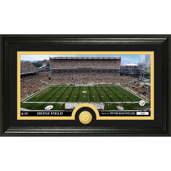 NFL Pittsburgh Steelers 'Stadium' Bronze Coin Panoramic Photo Mint