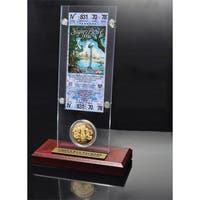 NFL Super Bowl 31 Ticket and Game Coin Collection