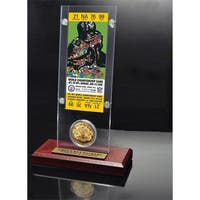 NFL Super Bowl 2 Ticket and Game Coin Collection