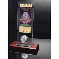 NFL Super Bowl 28 Ticket and Game Coin Collection