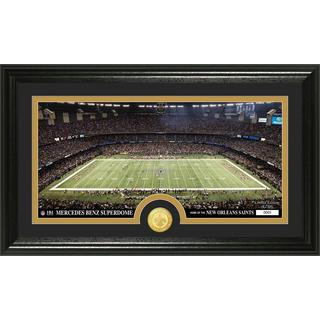 NFL New Orleans Saints 'Stadium' Bronze Coin Panoramic Photo Mint