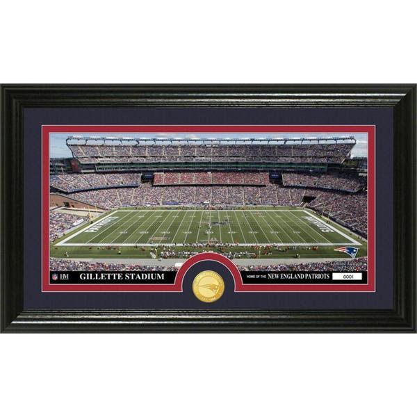 NFL New England Patriots 'Stadium' Bronze Coin Panoramic Photo Mint