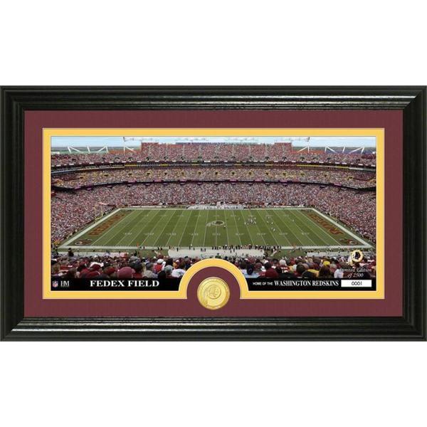 NFL Washington Redskins 'Stadium' Bronze Coin Panoramic Photo Mint