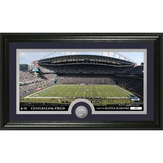 NFL Seattle Seahawks 'Stadium' Minted Coin Panoramic Photo Mint
