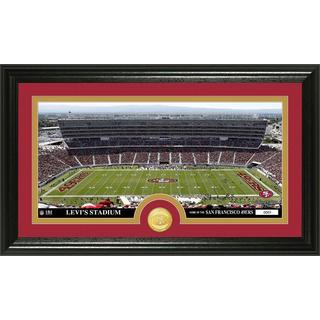 NFL San Francisco 49ers 'Stadium' Bronze Coin Panoramic Photo Mint