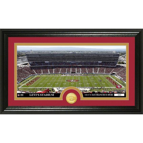 NFL San Francisco 49ers 'Stadium' Bronze Coin Panoramic Photo Mint