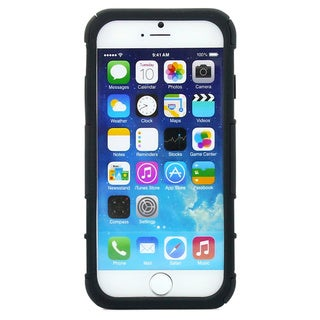 Gearonic Rugged Kickstand Case Cover with Belt Clip for Apple iPhone 6