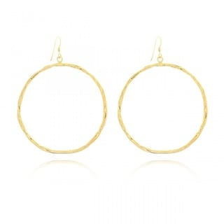 Belcho Midsize Round Passion Dangle Earrings