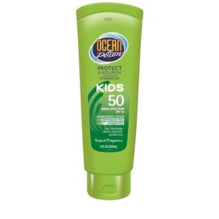 Ocean Potion 8-ounce Kids Sunscreen Lotion SPF 50