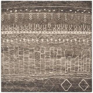 Safavieh Tunisia Brown Rug (6' Square)