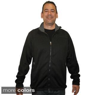 Spiral Men's Polartec Wind Pro Fleece Jacket|https://ak1.ostkcdn.com/images/products/9444603/P16629522.jpg?impolicy=medium