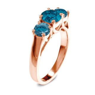 Auriya 14k Rose Gold 2ct TDW Diamond Three-stone Ring (Blue)|https://ak1.ostkcdn.com/images/products/9444612/P16629526.jpg?_ostk_perf_=percv&impolicy=medium