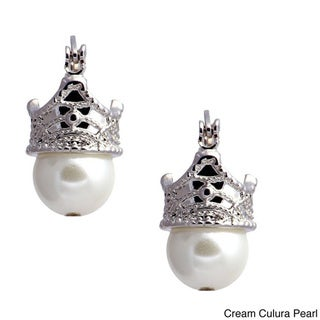 Madame Earth Princess Crown Earrings
