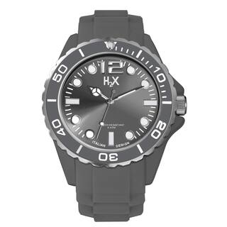 H2X Men's Reef Collection SG382UG1 Grey Soft Rubber Watch|https://ak1.ostkcdn.com/images/products/9444713/P16629632.jpg?impolicy=medium