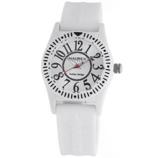 Haurex Italy Children's 'Promise' White Watch