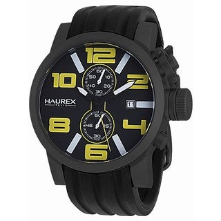 Haurex Italy Men's 'Turbina II' Collection Analog Display Chronograph Watch