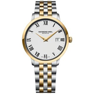 Raymond Weil Men's 5488-STP-00300 Toccata Two-Tone Stainless Steel and PVD Watch
