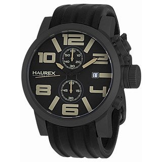 Haurex Italy Men's TURBINA II Collection 6N506UTM Analog Display Chronograph Watch