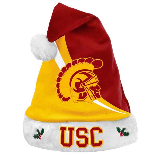 USC Trojans Polyester Swoop Santa Hat