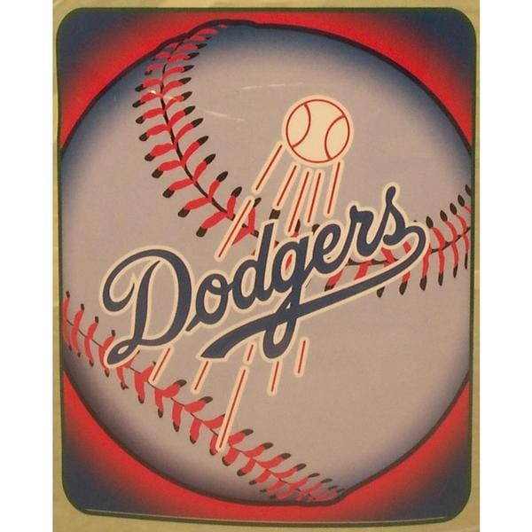 Los Angeles Dodgers Fleece Throw Blanket