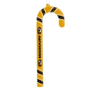 Missouri Tigers Plastic Candy Cane Ornament Set
